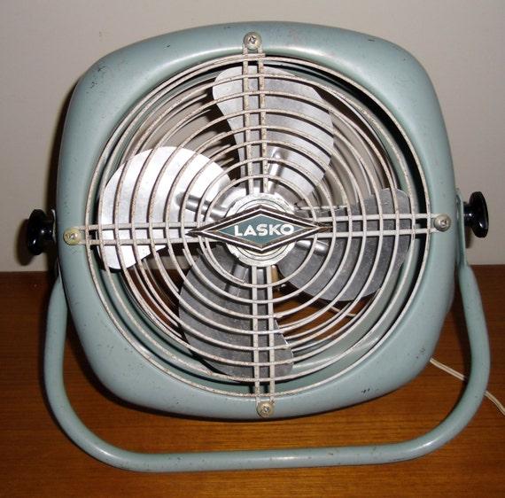 Vintage Floor Fans : Vintage lasko metal tabletop fan floor