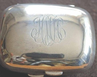 Sterling Silver Travelling Soap Dish