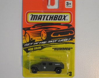 Matchbox Hummer 1994 Release Army Olive Drab