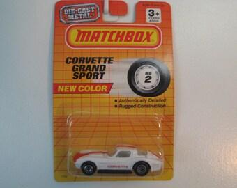 Matchbox Corvette Grand Sport Coupe  1993 Release