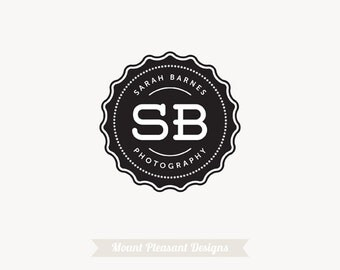 Premade business logo design - photography logo design & watermark
