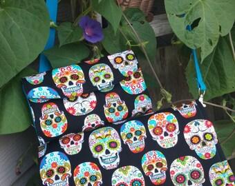 Sugar Skull Glenda Purse / Clutch, Skull clutch, Sugar Skull Handbag, Sugar Skull Clutch, Swoon Glenda Bag