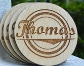 Corporate Gift, Coworker Gift, Personalized Coasters, Custom Coasters, Company Gifts, Coworker Gift, Corporate Gift, Wooden Coasters