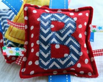 Circus Colors Custom Name Bean Bags