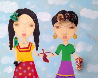 Two Fridas by Haley