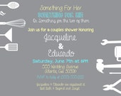 Couples Shower Invitation -- 5x7 DIGITAL FILE