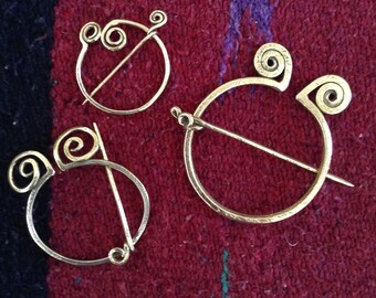 Forged Penannular Pins