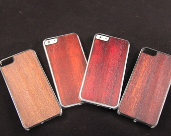 iPhone 5 5s SE Wood Phone Case - Hand finished smartphone Elegent, slim durable case