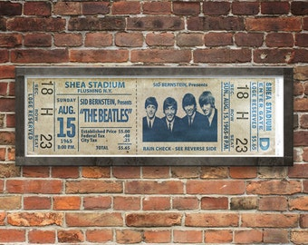 Beatles at Shea Stadium Concert Ticket