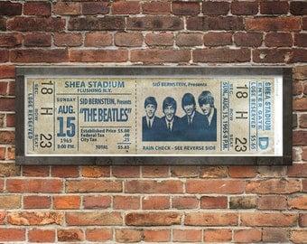 Beatles at Shea Stadium Concert Ticket