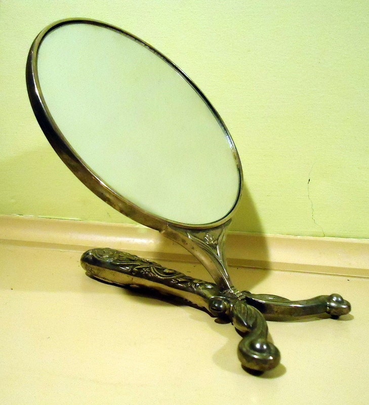 Godinger Adjustable Hand Vanity Mirror