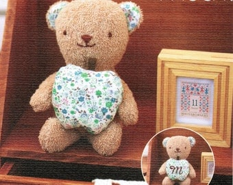 Organic Cotton Teddy Hand Sewing Kit - Make Your Own Baby Plush