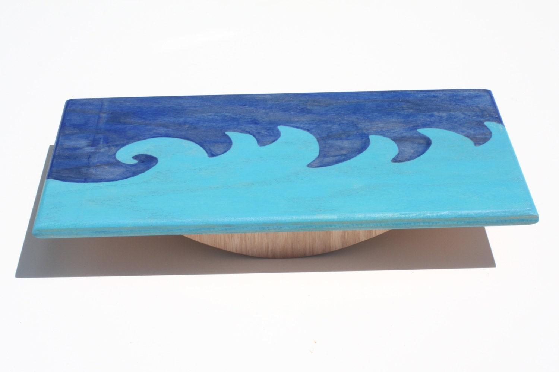 blue wave balance board. Black Bedroom Furniture Sets. Home Design Ideas
