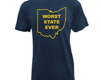 Worst State Ever American Apparel - Navy