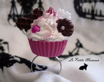Sweet Lolita Cupcake Ring 115