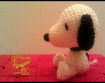 Amigurumi Patterns Snoopy : Snoopy knitting pattern