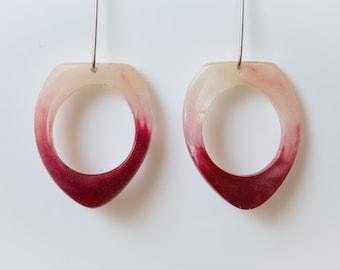 Unique Deep Rigel Dangle Earrings