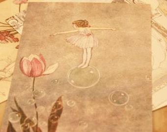 Fairy Postcard - 4 Cards