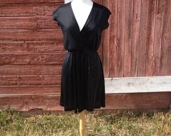 Glamourous 1970's V-Neck Dress