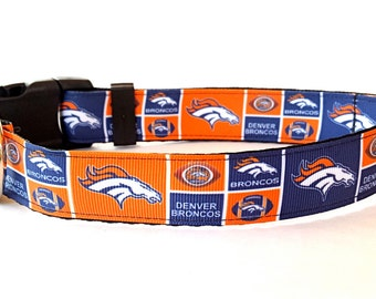 NFL Denver Broncos Dog Collar