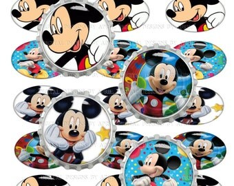 Mickey mouse #52 bottle cap images