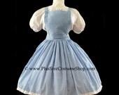 DOROTHY Plus Size Halloween Costume WIZARD of OZ Adult Womens Size 1X 2X 3X 4X 5X - 3 pcs New