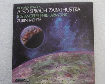 "Richard Strauss, Los Angeles Philharmonic, Zubin Mehta - ""Also Sprach Zarathustra"" vinyl record"