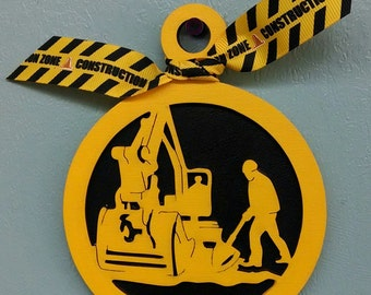 Construction Christmas Ornament