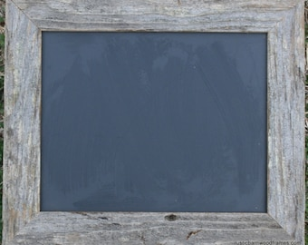 "Rustic Barnwood Framed Chalkboard Chalk Black Board Display Menu 8""x10"""