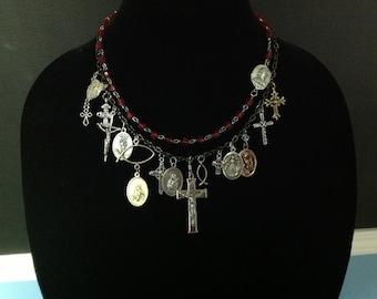 OOAK Charm Necklace