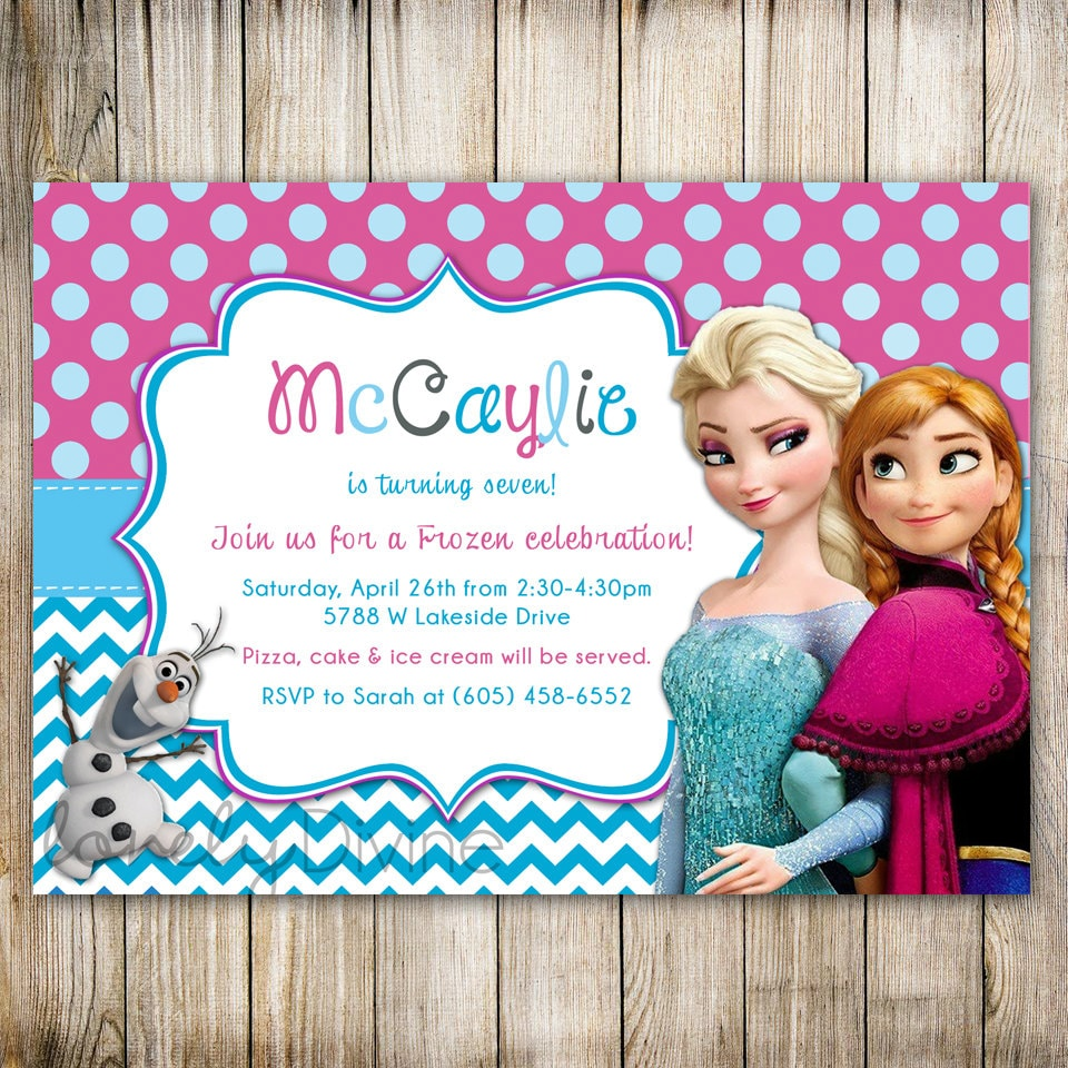 Wording For Frozen Birthday Invitations was perfect invitations ideas