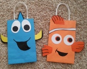 Finding Nemo (Dory & Nemo) Party Favor/Gift/Goodie Bags!