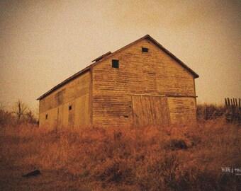 fine art photograph - barn photography - farm photography - nature photography - landscape print - large wall art - old barn - home decor