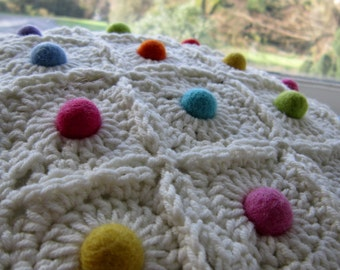 Ball and Chain Square Crochet pattern