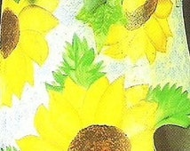 Tin Treasures Decorative Tole Acrylic Painting Book Home and Garden Suzanne McNeill Sunflower Butterfly How To Paint