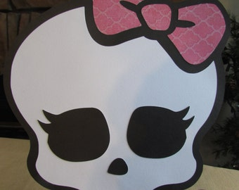 Monster High Skull Cutout