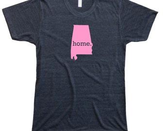 Homeland Tees Men's Alabama Home T-Shirt PINK EDITION