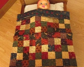 Doll Quilt- mini