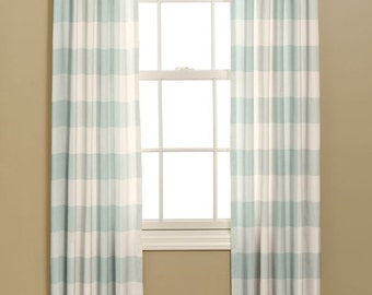 boys bedroom curtains in p kaufmann buffalo check fabric french country design 2 custom made. Black Bedroom Furniture Sets. Home Design Ideas