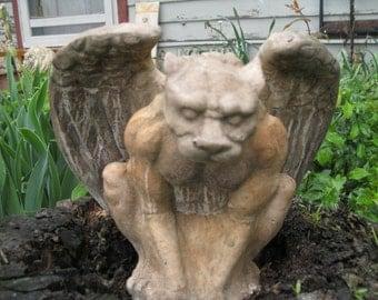 Jaguar Gargoyle Statue
