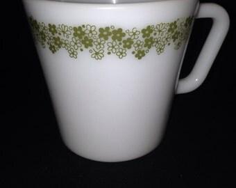 Pyrex 3 Spring Blossom mugs