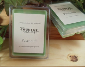 Patchouli Scented 100% Soy Wax Melt - Maximum Scented