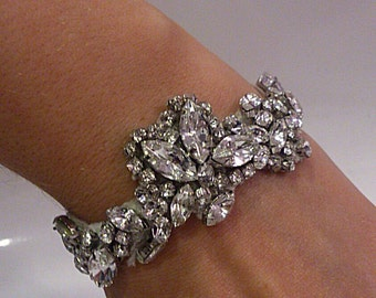 Crystal bracelet -Eve bridal bracelet