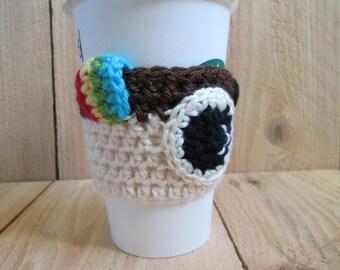 Crochet Instagram inspired cup cozy