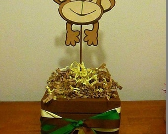 Jungle Monkey Baby Shower Centerpiece - Half a dozen(6 pieces)