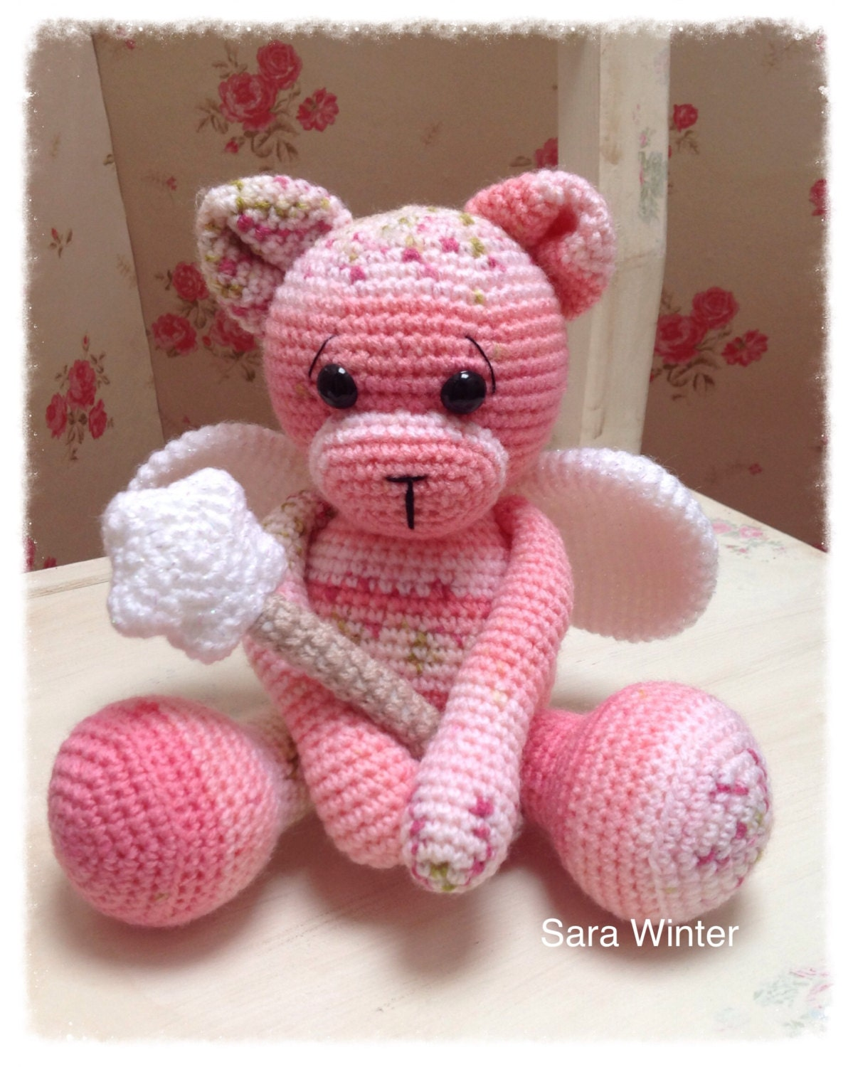Amigurumi Crochet Fairy Teddy Bear