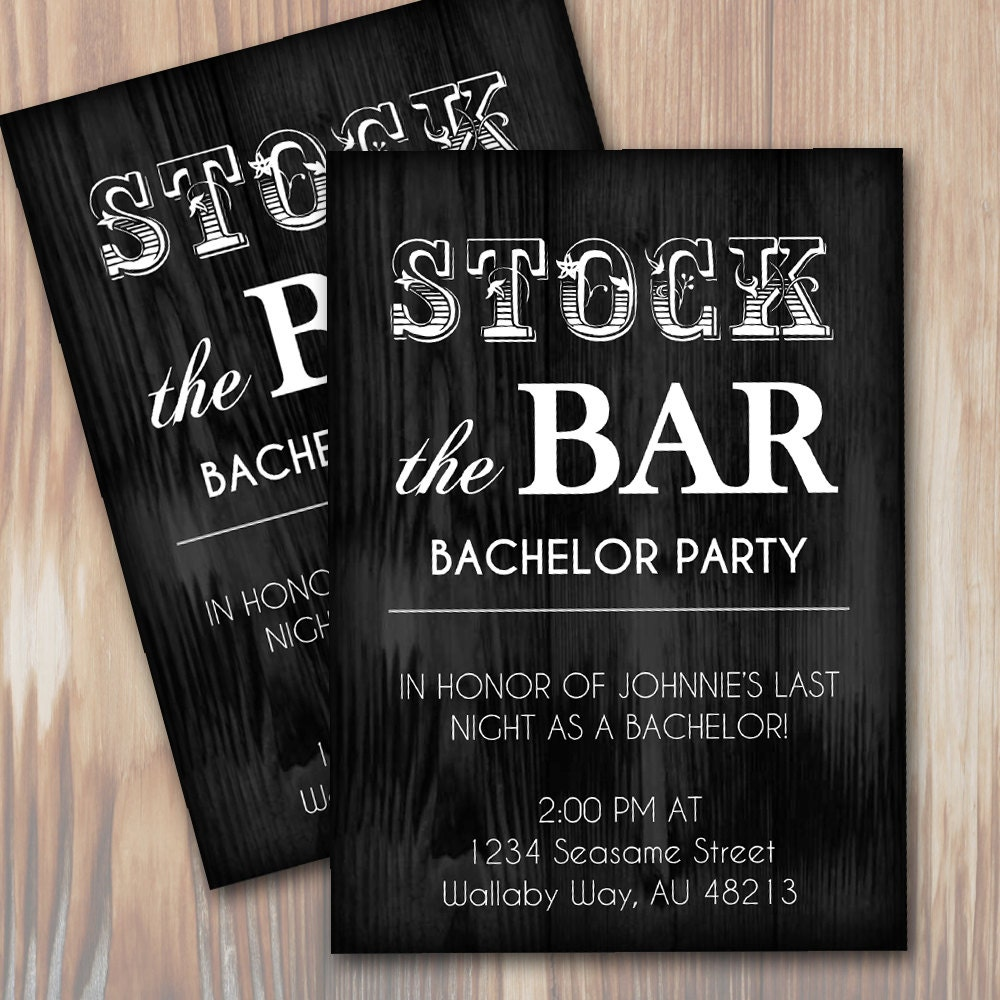 Bachelor Party Invitation Template cheap birthday cards make thank – Bachelor Party Invite Template