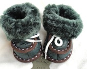Sheepskin slippers (baby sizes)
