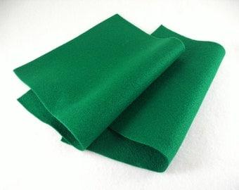 2 Felt Sheets, Dark Green (549)