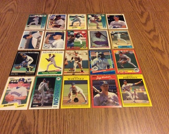 100 Seattle Mariners Baseball Cards